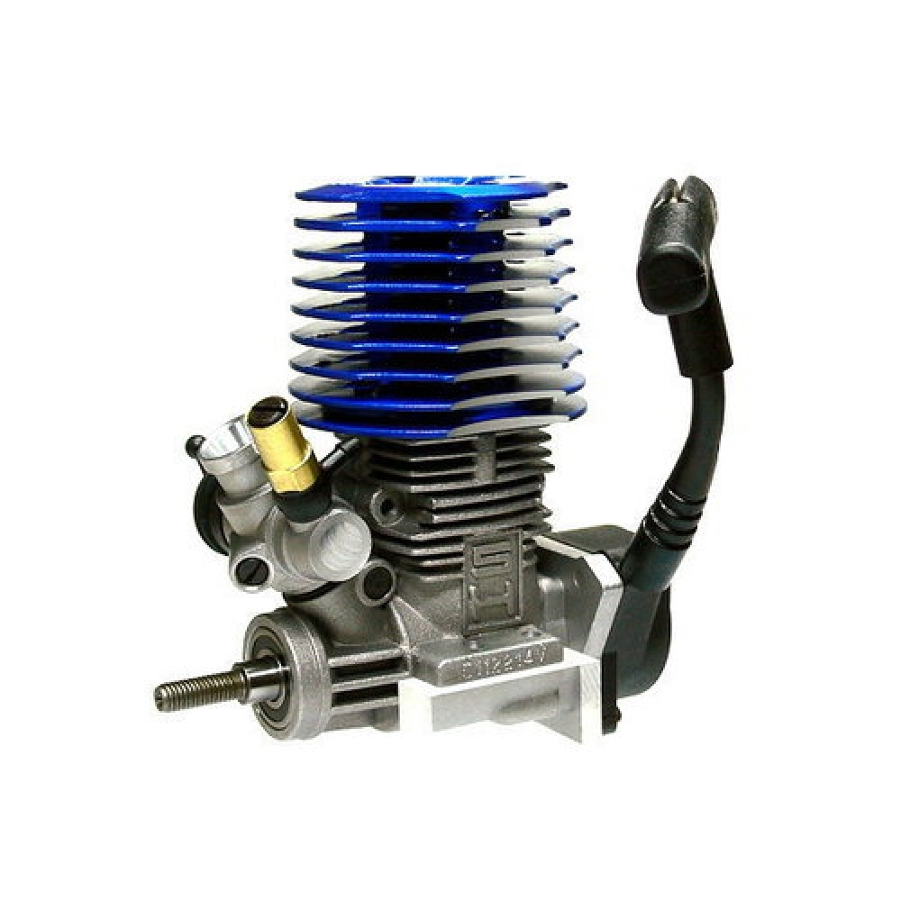 Nitro R C Cars Engine Tuning Secrets: 18CXP RC Nitro SH Engine Rotary Carb Side Exhaust