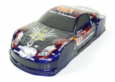 1/10 Scale Drift Car Spare Body - Nissan 350Z Blue