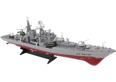 RC Boat Destroyer Ship