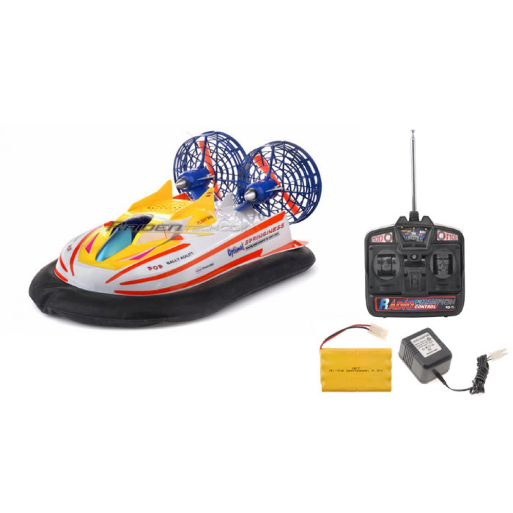 Rc Hovercraft 1 10 Scale Full Function Green