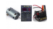 17.5T Sensored Brushless Motor Combo