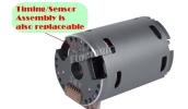 17.5T Sensored Brushless Motor Combo