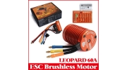 LEOPARD 60A 9T 1/10 Brushless Upgrade Kit