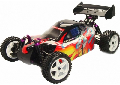 Refurbished 4x4 RC Buggy (Night Flame)