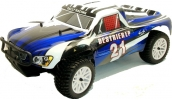 Himoto 1/10 4x4 Short Course Truck Like Traxxas Slash (Blue)