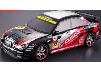 Electric 1/10 RC 4x4 Subaru Impreza WRX-9 Rally Car