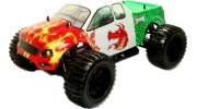 1/10 Electric RC Monster Truck (Red Dragon)