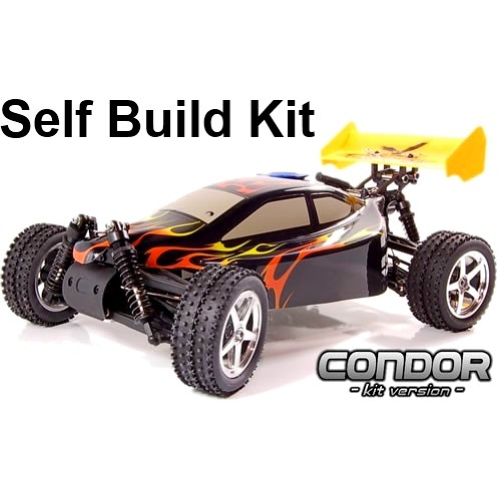 Self Build Rc Car Kit Condor Nitro Buggy