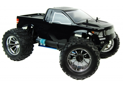 1/10 4x4 Bug Crusher Nitro Remote Control Truck 60mph! Black
