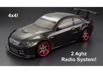 Himoto Nitro RC Car 2 Speed 4x4 BMW M3