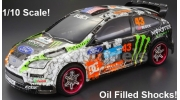 Himoto Nitro 2 Speed 4x4 Ford Focus Rally RC Car
