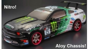 Himoto Nitro RC Car 2 Speed 4x4 Ford Mustang