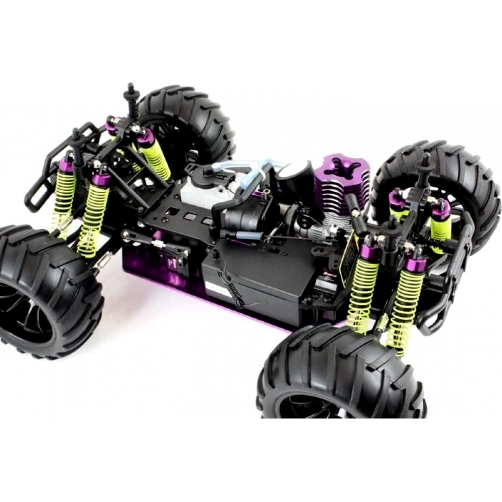 Nitro Rc Monster Truck Red Dragon