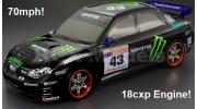 Himoto Nitro RC Car 2 Speed 4x4 Subaru Impreza WRX