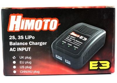 LiPo Balance Battery Charger 2S, 3S 7.4v 11.1v 800ma