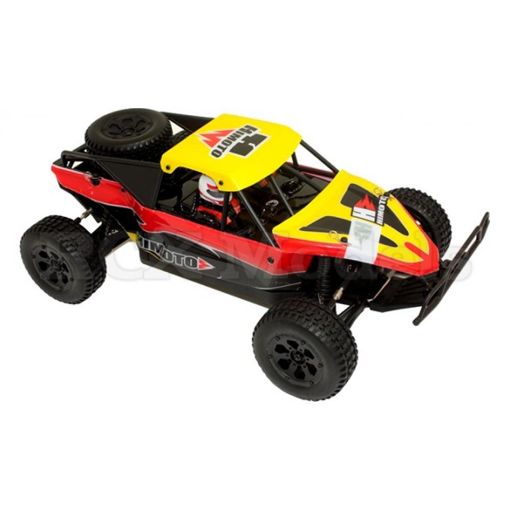 himoto pro 4x4 1 10 rc desert race buggy yellow. Black Bedroom Furniture Sets. Home Design Ideas