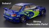 Himoto Nitro RC Car 2 Speed 4x4 Subaru Impreza WRX