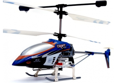 Double Horse Metal RC Mini Helicopter 3 Channel