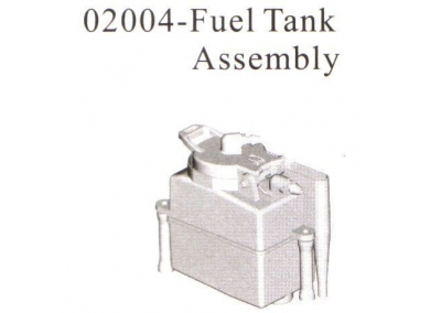 02004 Fuel Tank Assembly
