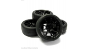 1/10 On Road Wheels Tyres RC Car Soft