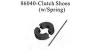 86040 0.7CXP Nitro Engine Clutch Shoes + Spring 1/16
