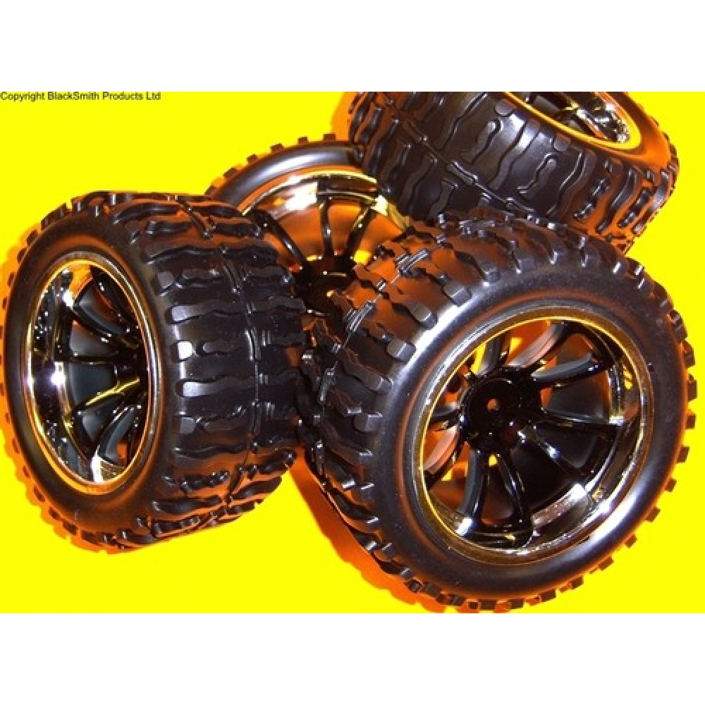 1 10 Rc Car Wheels : A rc monster truck wheels tyres