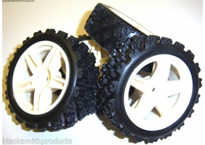 1/10 Small RC Buggy Wheels 4x