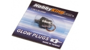 HK Glow Plug No.4 (MEDIUM HOT) For Nitro Cars Engines