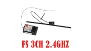 2.4GHZ Receiver RX For GT-2 Pistol Grip Radio Systems